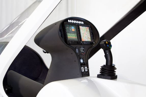 Volocopter VC200 cockpit