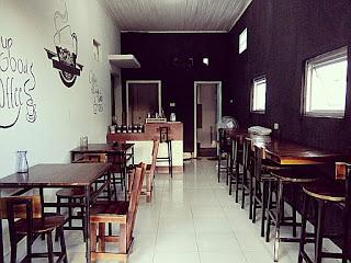Loowngan Kerja Kedai Pustaka Kopi Kemiling, Bandar Lampung