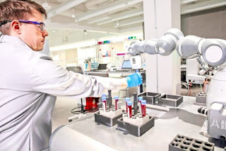ABB demonstrates concept of mobile laboratory robot for Hospital of the Future