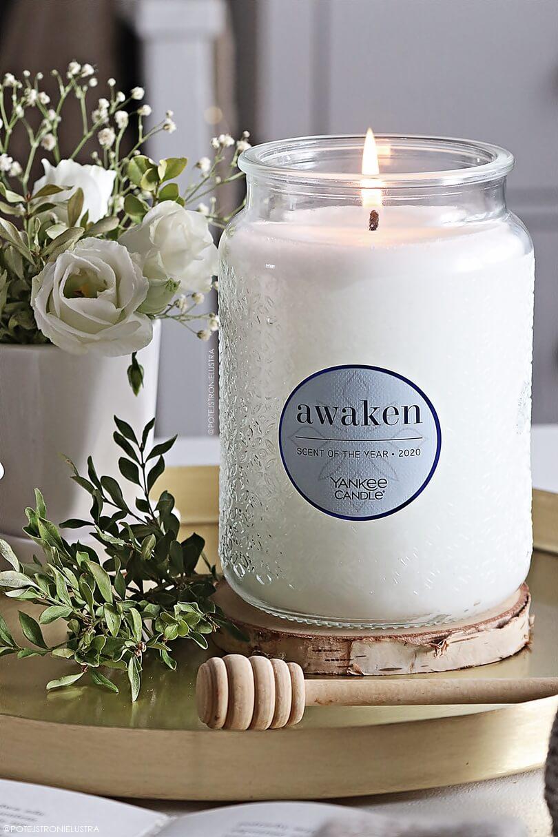 świeca yankee candle awaken zapach roku 2020