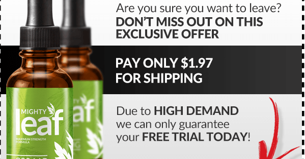 Excellent Health Care: Mighty Leaf CBD Oil