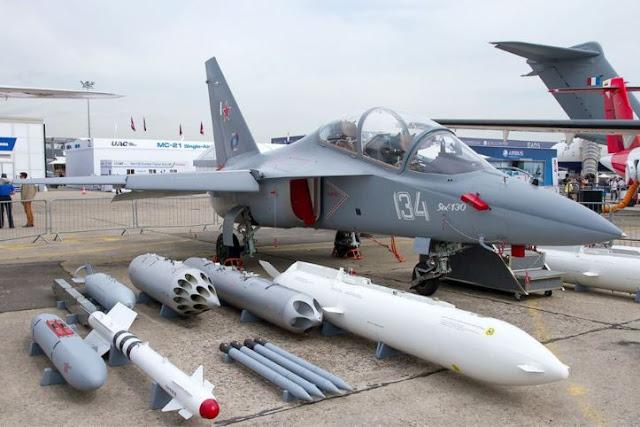 Yakovlev Yak-130 Weapon