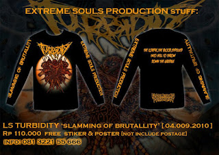 Turbidity - Slamming of Brutality - Skullator Artwork