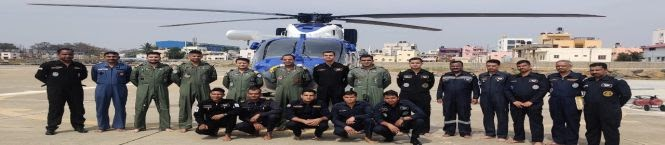 Indian Navy Converts Its All-Weather Chopper Into Air Ambulance For Critical Patients' Evacuation