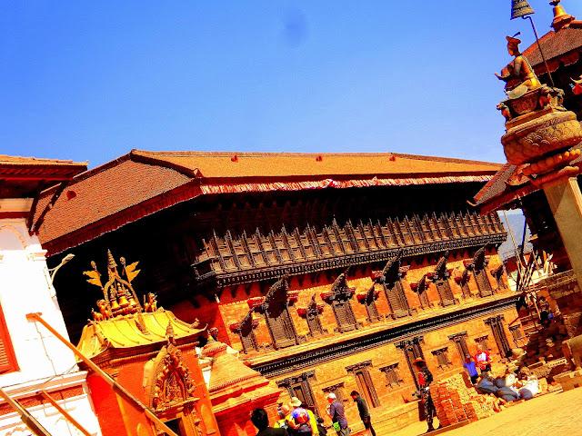 Golden gate of Taolja Temple