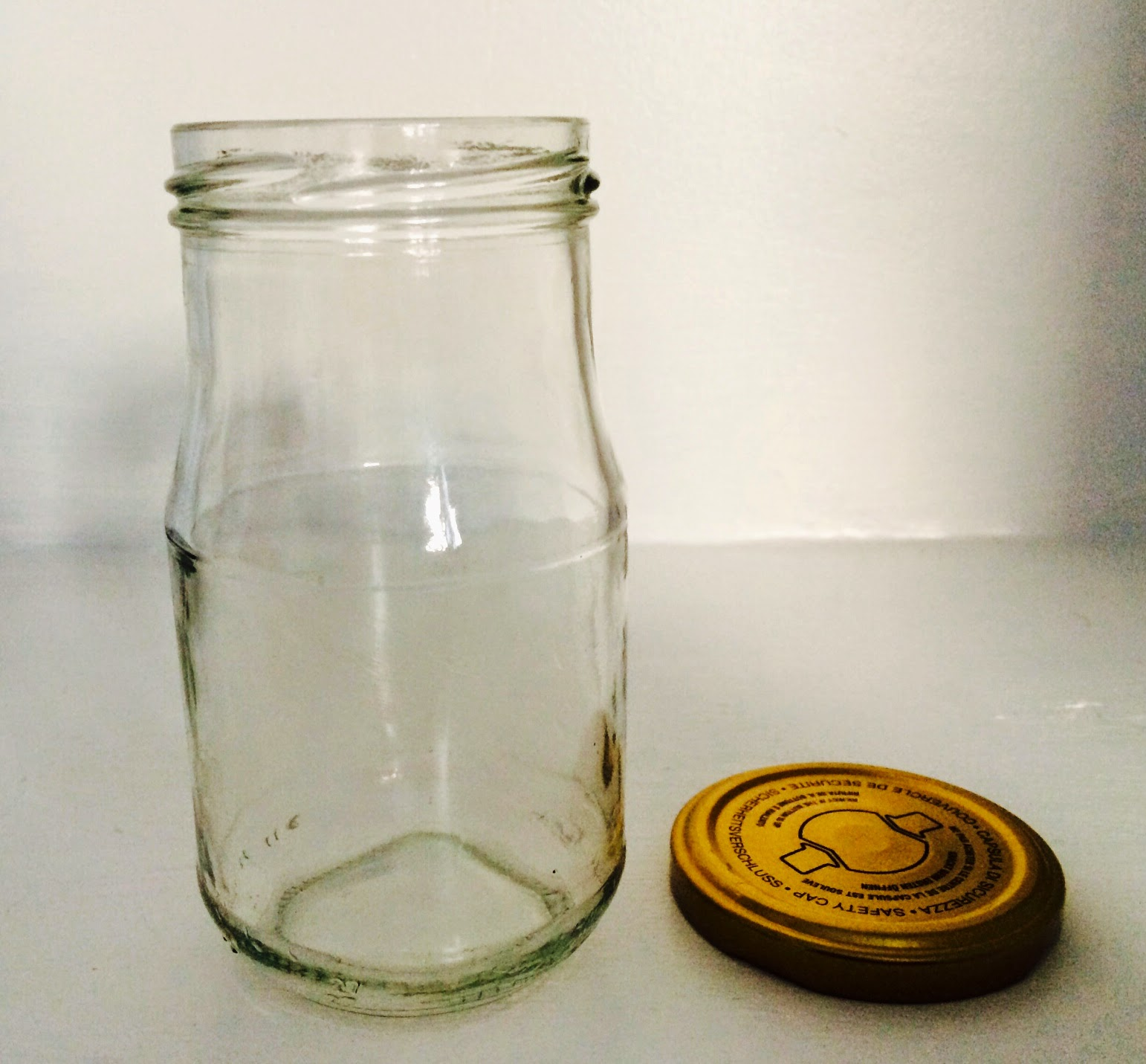 empty jar, jar for salads, salad in a jar, lunch idea's