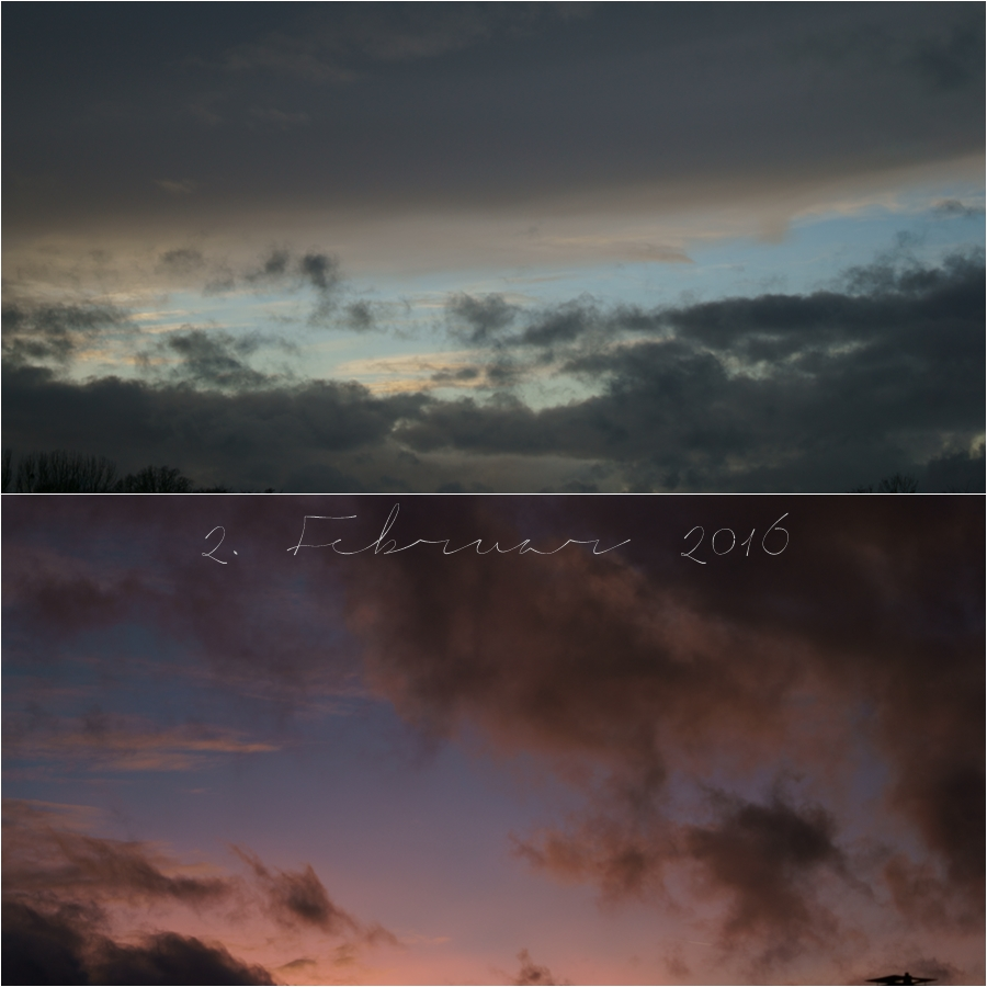 Blog + Fotografie by it's me! - Sonnenuntergang am 2.02.2016