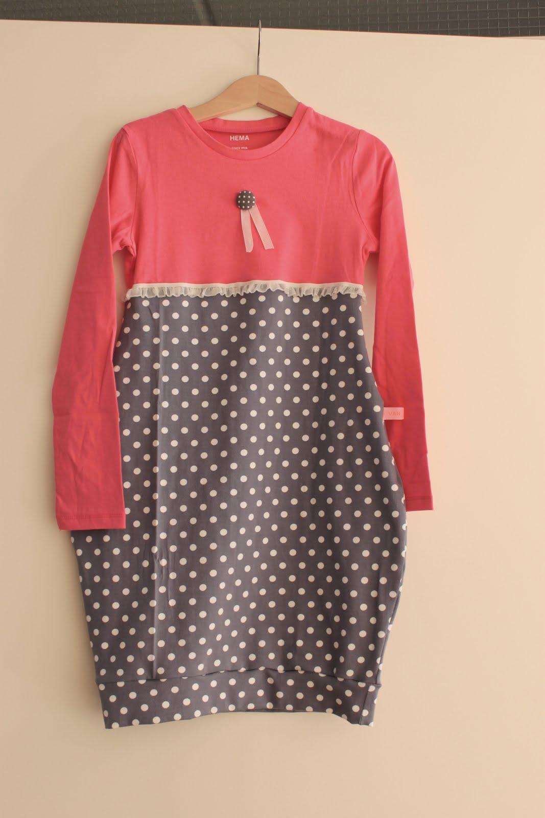 Favoriete Van Jansen: Hoe maak ik een t-shirt-jurkje? &PV69