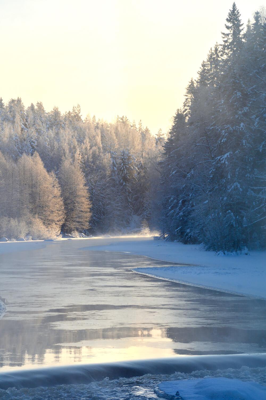 jokimaisema-talvi