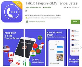 aplikasi TalkU