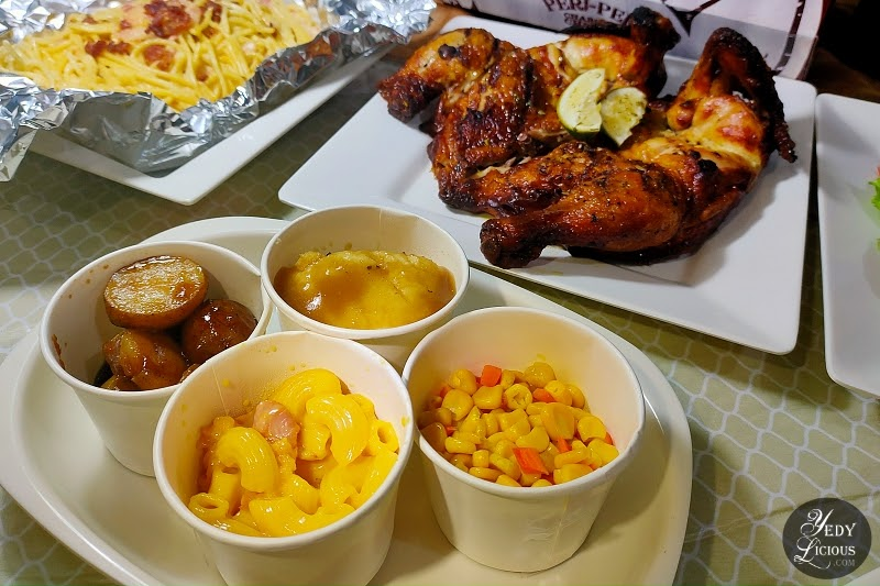 Side Dishes Menu at Peri-Peri Charcoal Chicken and Grill Philippines