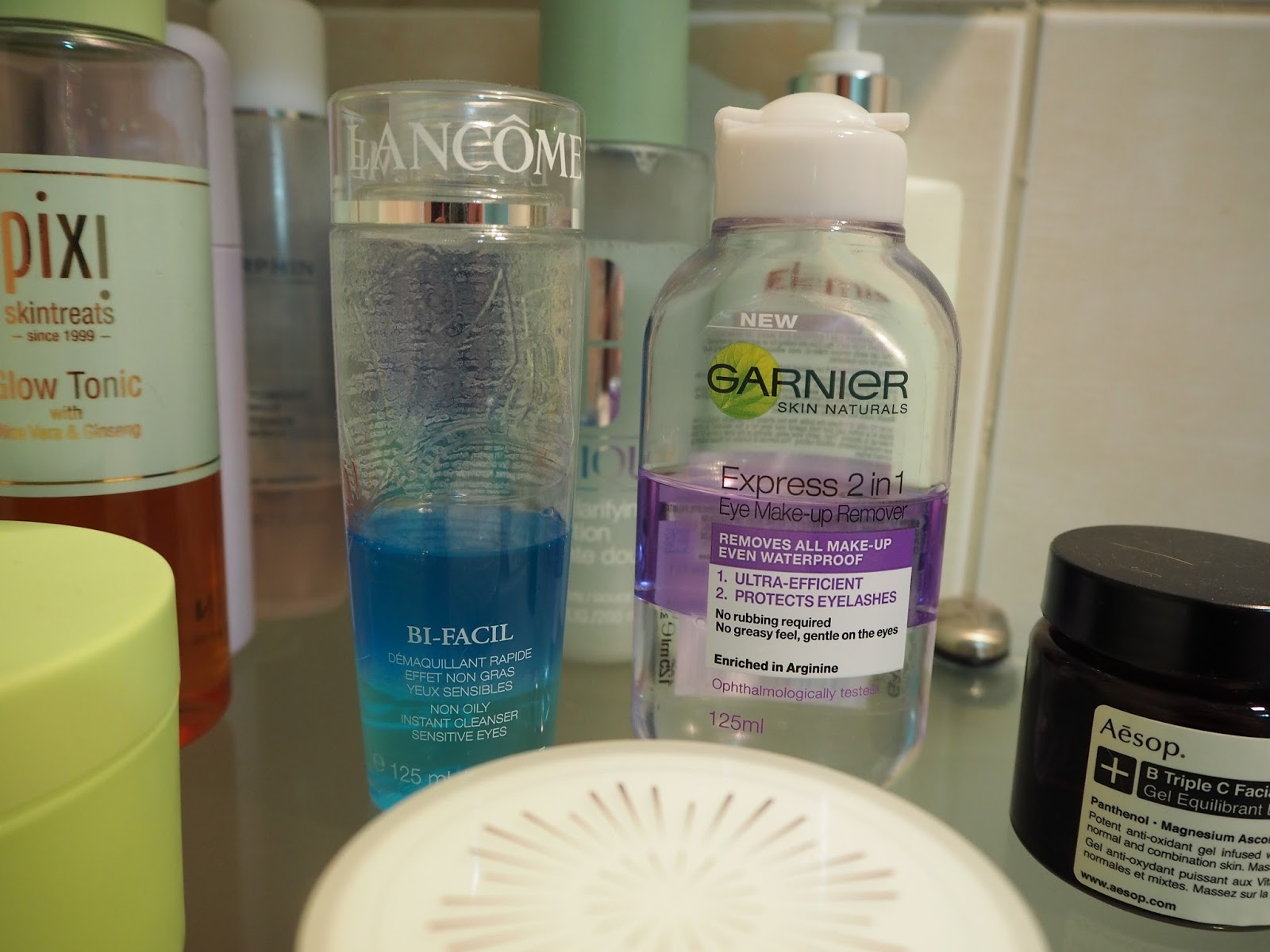 bi-phase make up remover review