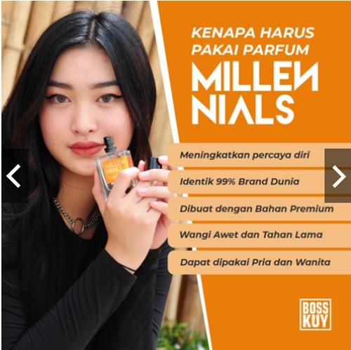 Agar tetap Wangi Sepanjang Hari dengan Parfum Millennials