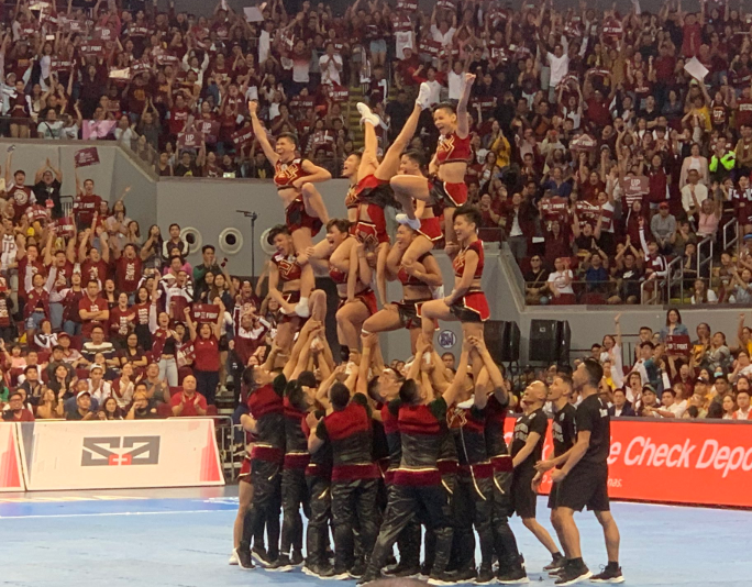 UAAP CDC 2019: UP Pep Squad performance video