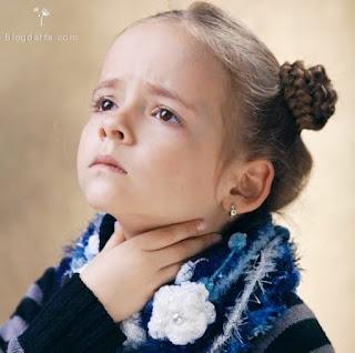 Cara Meredakan Radang Tenggorokan Pada Anak