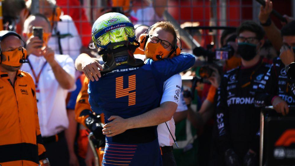 Norris deu um grande passo em 2021, diz o chefe da McLaren, Seidl