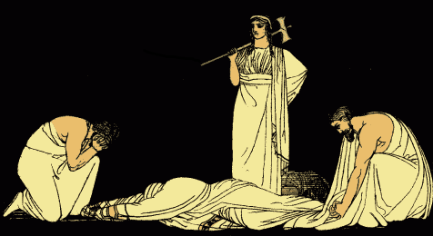 How far is Agamemnon responsible for his tragedy
