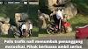 POLIS TRAFIK NAFI TUMBUK PENUNGGANG MOTOSIKAL. PIHAK BERKUASA AMBIL SERIUS