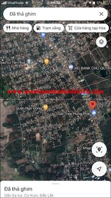 Bán đất QL 27 Chợ Trung Hòa Huyện Cư Kuin 1 tỷ 7