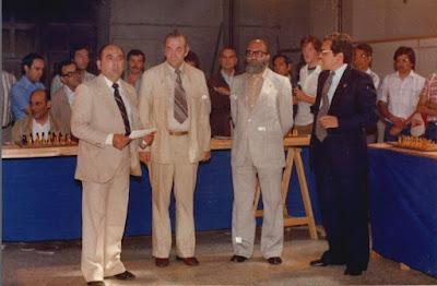 Simultáneas de Viktor Korchnoi en Lérida en 1980