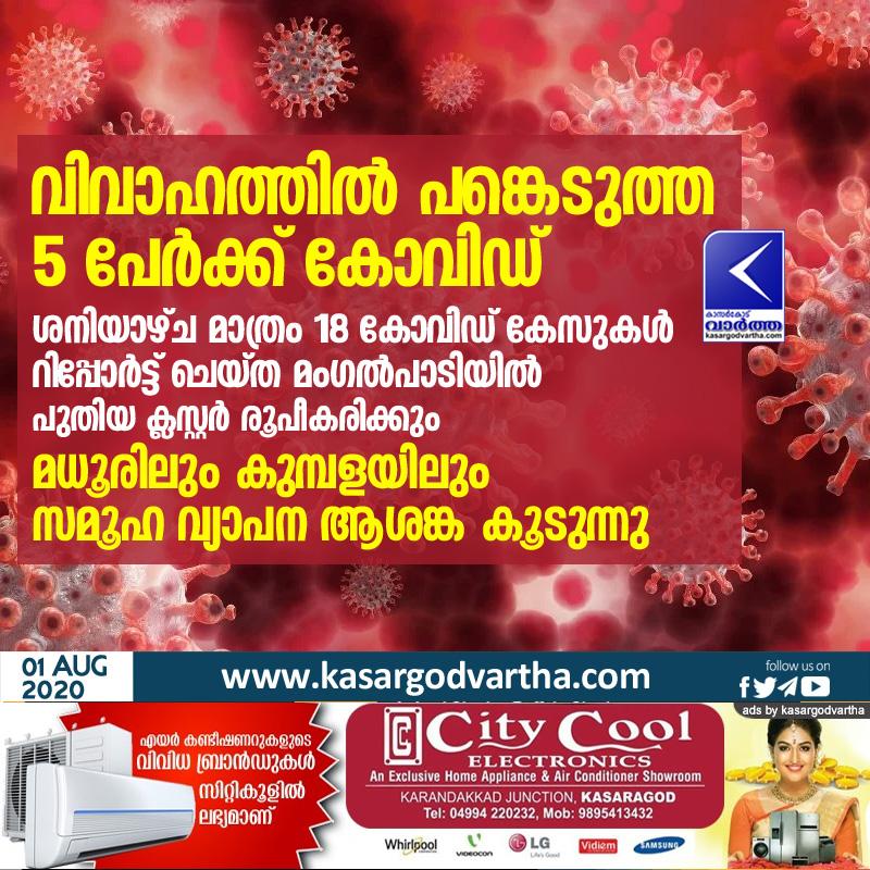 Kasaragod, Kerala, News, Madhur, Kumbala, COVID-19, Trending, COVID community spread concerns in Madhur and Kumbala