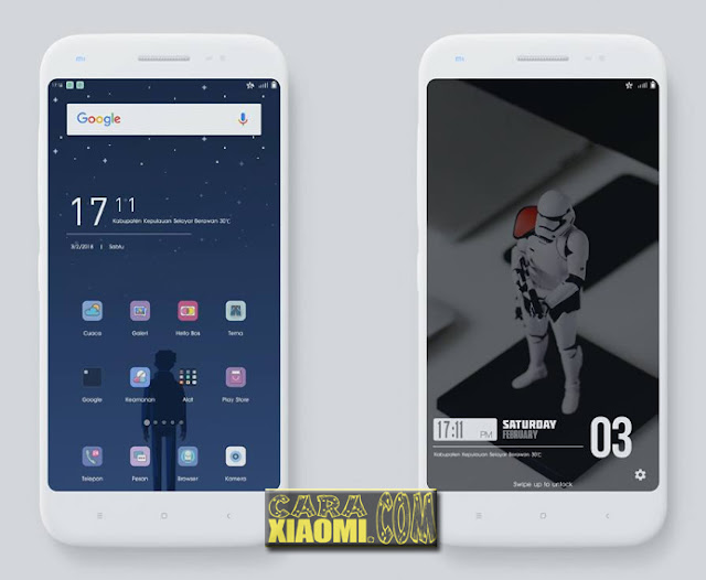 Update Tema MIUI De Odd Light Theme Mtz For Xiaomi V8 Theme / V9 Theme