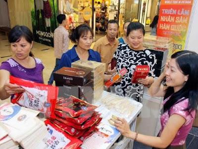 Các sản phẩm từ nhân sâm Hàn Quốc ngày càng được ưa chuộng ở nước ta