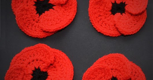Free Crochet Poppy Patterns