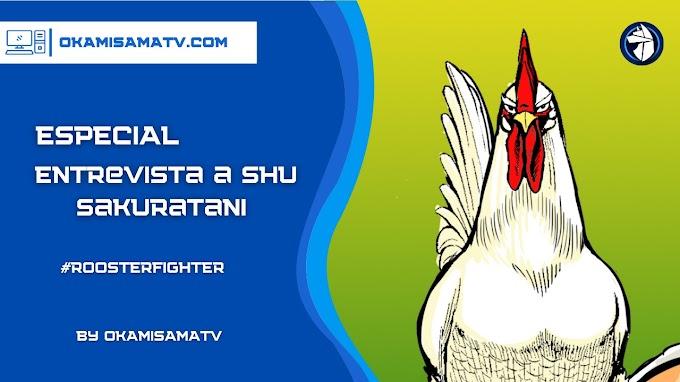 ENTREVISTA con Shu Sakuratani, autor de Rooster Fighter