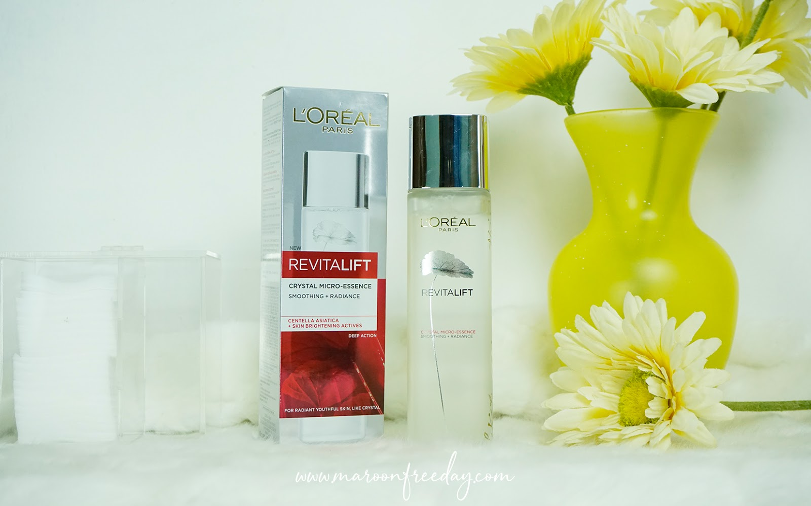 Review L'oreal Paris Revitalift Crystal Micro-Essence