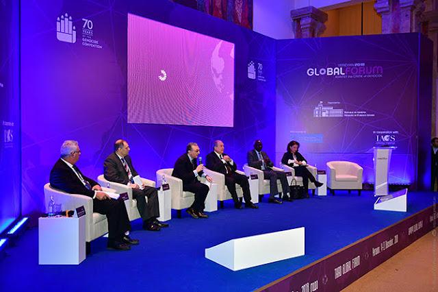 Tercer foro mundial contra el genocidio en Ereván