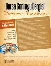 Bursa Günlüğü Dergisi Deneme Yarışması
