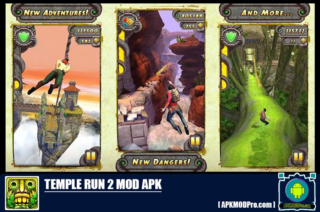 Download Temple run 2 Mod Apk 1.63 [Unlimited Money] Terbaru 2020
