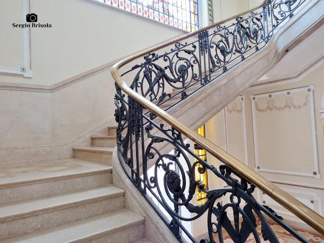 Palacete Basílio Jafet (escadaria - detalhes)