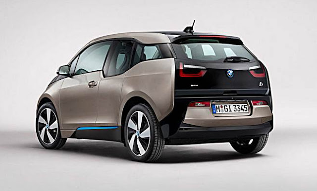 2016 BMW i3 Changes