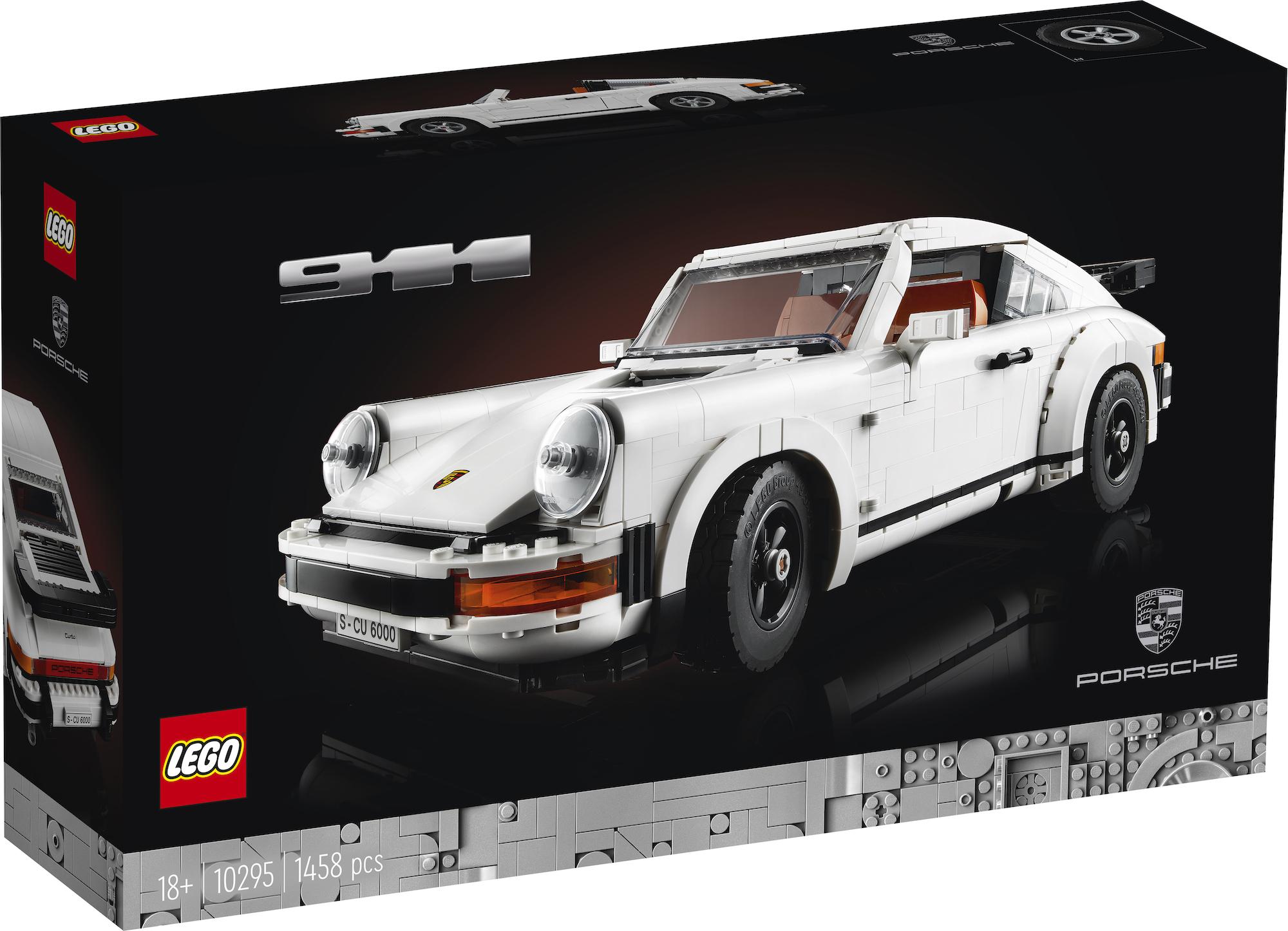 LEGO unveils Porsche 911 Turbo and 911 Targa set