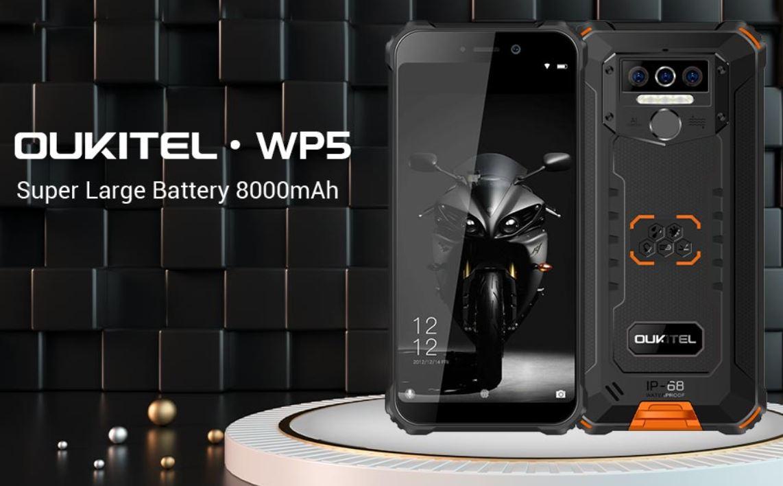 Oukitel WP5, Smartphone Tahan Banting dengan Baterai 8000mAh