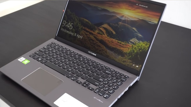 Asus VivoBook 15 X512 laptop. It is all-plastic body laptop with enough high-end specs to give high performance but comes with a poor battery life. It is powered by Intel Core i5 processor and NVIDIA MX330 2GB GPU.