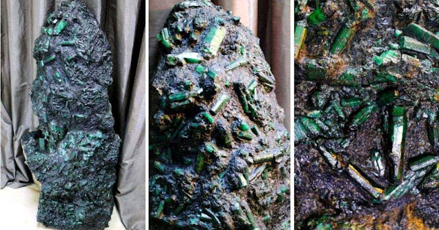 Emerald Weighing More Than 800 Pounds Found in Brazil