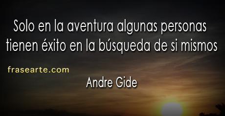 Frases para reflexionar – Andre Gide