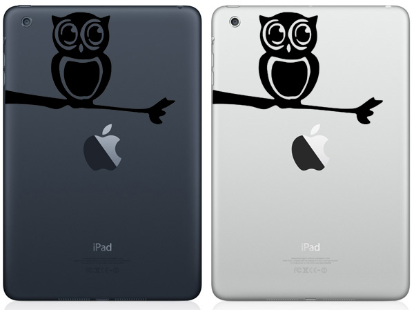 Owl iPad Mini Decals