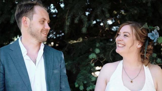nontraditional June wedding