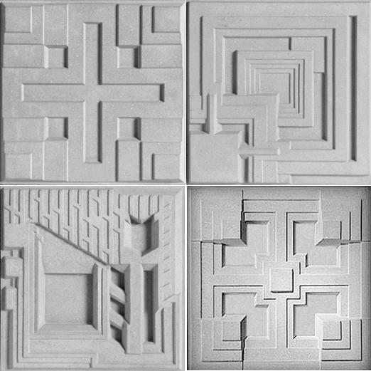 Future Ish Sculptural Sustainable Tiles