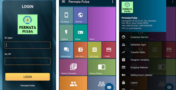 Aplikasi Android Permata-Pulsa.NET