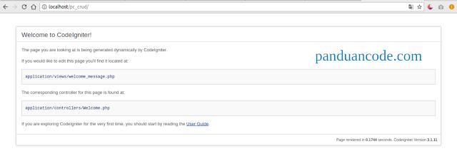Membuat CRUD Menggunakan Codeigniter 3 Dan Bootstarp 4