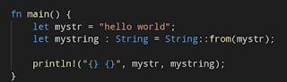reversing rust string and str datatypes