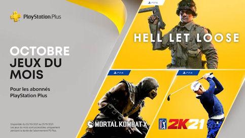 sélection octobre 2022 PlayStation Plus