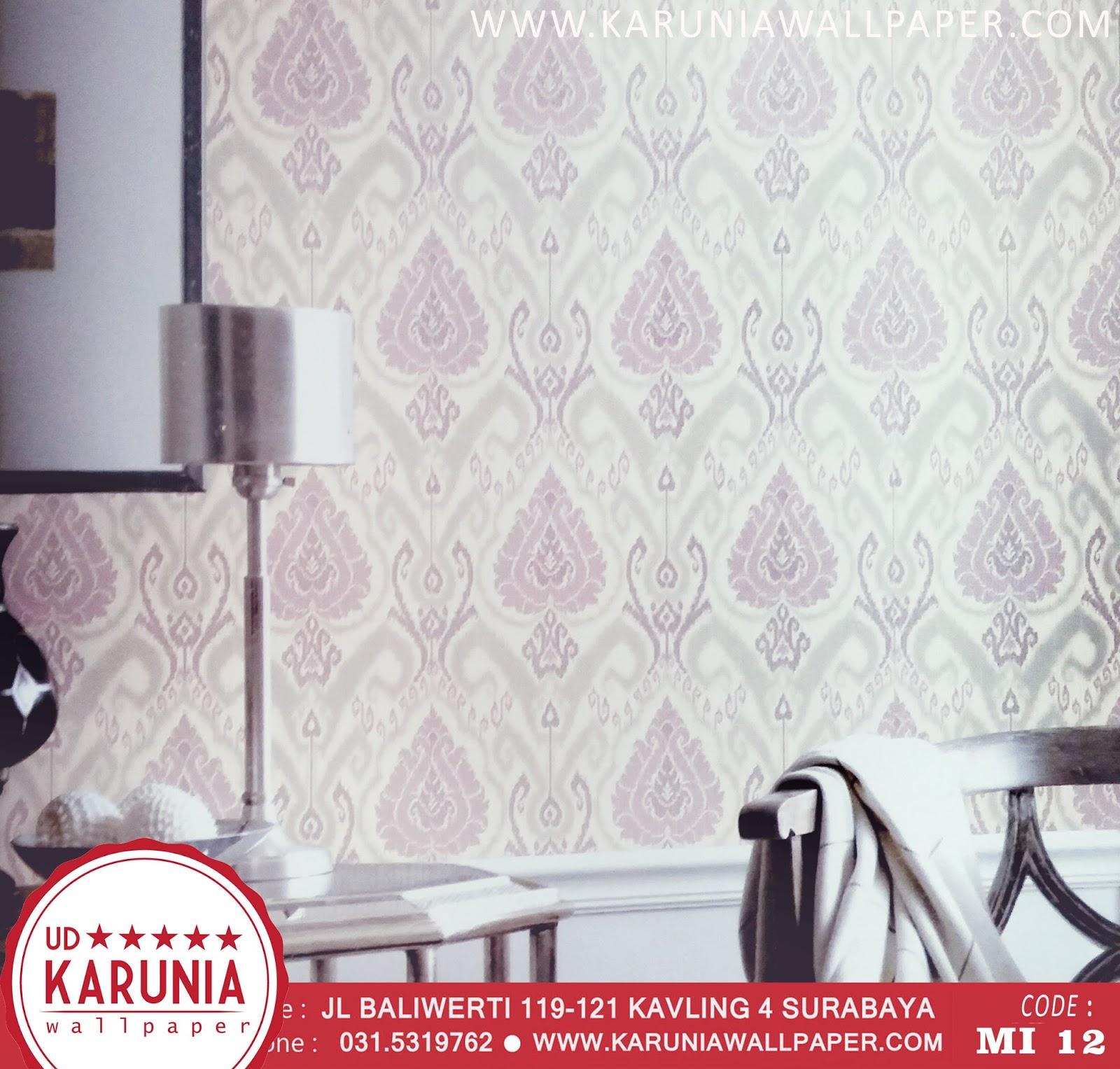 jual wallpaper dinding bunga karuniawallpaper