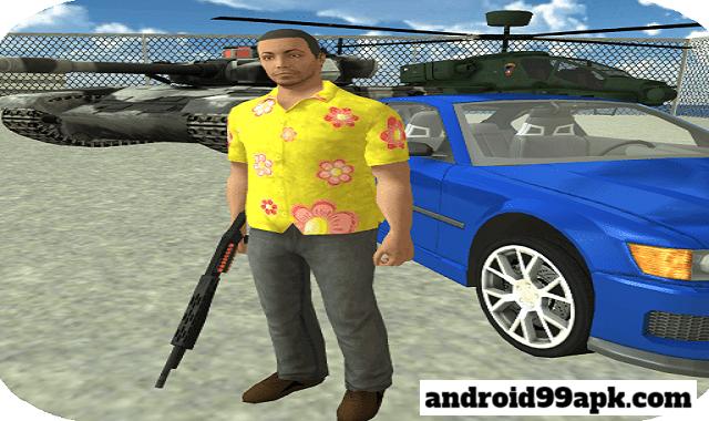 لعبة Real Gangster Crime v5.14.190 مهكرة (بحجم 99 MB) للأندرويد