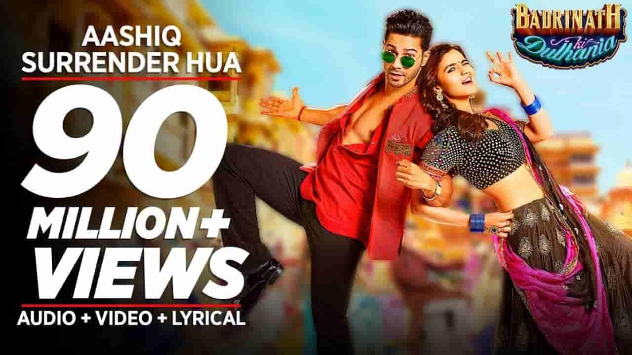 Aashiq surrender hua lyrics Badrinath ki dulhania Amaal Mallik x Shreya Ghoshal Bollywood Song